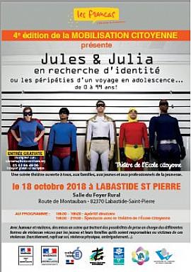 Ensemble pour la 4ème mobilisation citoyenne dédiée aux familles de Tarn-et-Garonne !