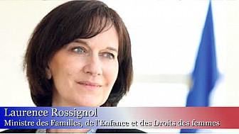 Madame Laurence Rossignol, Ministre des Familles, de l'Enfance et des Droits des femmes