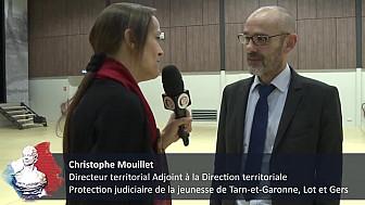 Interview de Christophe Mouillet, Directeur territorial  à la Direction territoriale  Protection judiciaire de la jeunesse de Tarn-et-Garonne, Lot et Gers