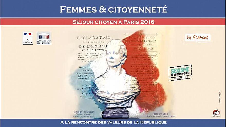 Femmes et Citoyenneté : un séjour citoyen à Paris pour favoriser l?accès aux valeurs de la République.