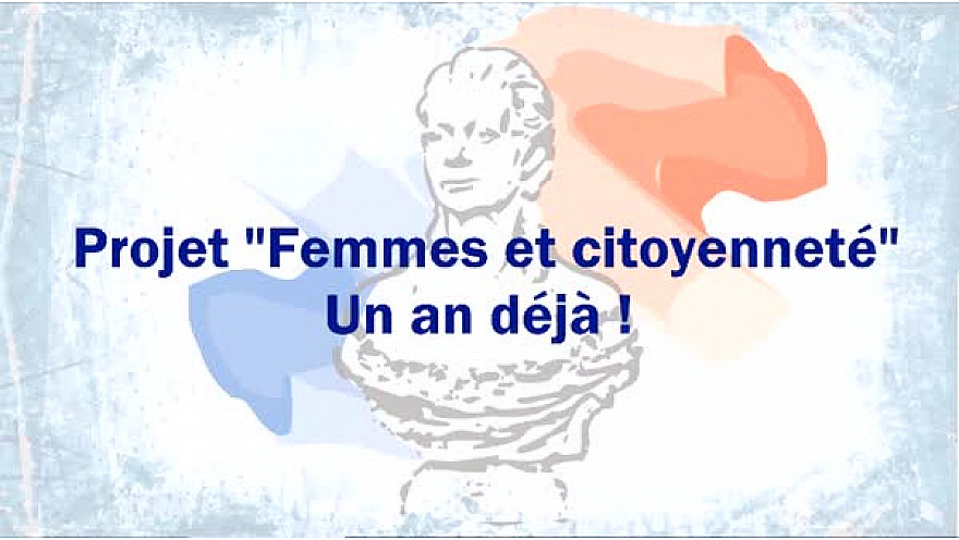 Projet 'Femmes et Citoyenneté, un an déjà.
